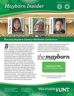 Mayborn Insider May-June 2015