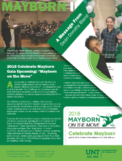Mayborn Insider March-April 2018