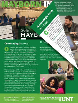 Mayborn Insider May-AJune 2016